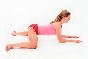 упражнение для похудения живот ягодицы видео