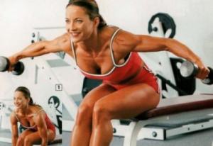 Тренировка дельт для девушек