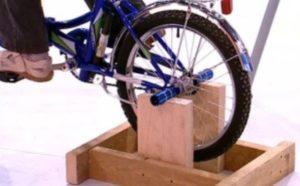 Как самому сделать велотренажер 158